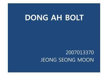DONG AH BOLT