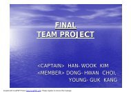 FINAL TEAM PROJECT