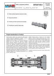 SFD2F-B3/l - Argo-Hytos