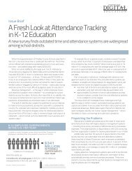 A Fresh Look at Attendance Tracking in K-12 Education - Center for ...