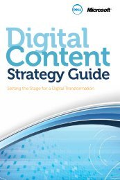 Digital Content Strategy Guide - Dell