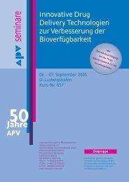 50 Jahre APV
