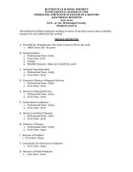 Fringe Benefits - Blytheville Public Schools