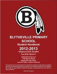 Student Handbook - Blytheville Public Schools