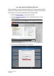 Lån e-bøger direkte på iPad/iPhone/iPod Touch - Københavns ...