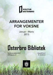 Arrangementer for voksne Januar - Marts 2013 - Københavns ...