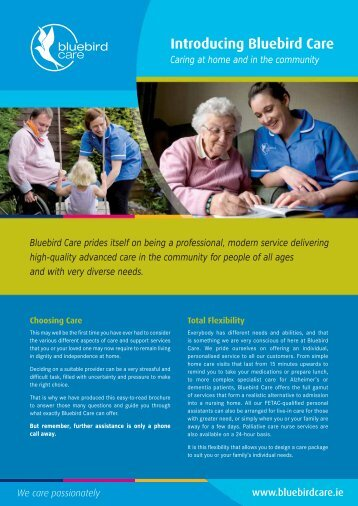 Introducing Bluebird Care