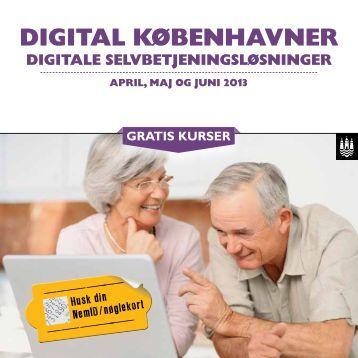 Program Digital Københavner april, maj og juni 2013 - Københavns ...