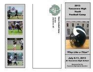 Titan Football Camp - Middletown High School