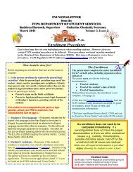 Click here to read about Enrollment Procedures