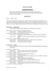 SOCIAL STUDIES SOCIOLOGY SS.SOC.10 — Introduction SS. SOC ...