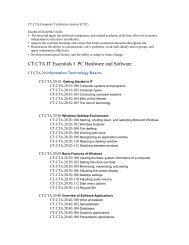 Computer Technican Analyst