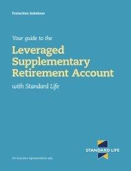Leveraged Supplementary Retirement Account - Standard Life