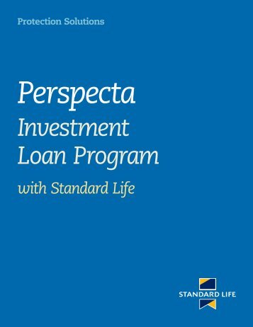 Perspecta Investment Loan Program with Standard Life (6152)