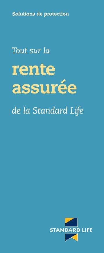 rente assurée - Standard Life