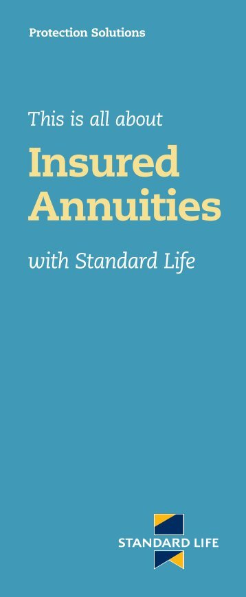 Insured Annuities - Standard Life