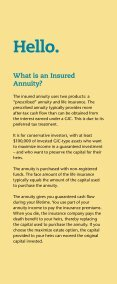 Insured Annuities - Standard Life - Page 2