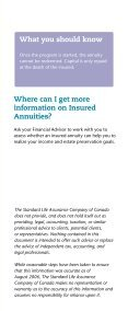 Insured Annuities - Standard Life - Page 7