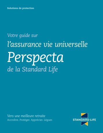 l'assurance vie universelle - Standard Life
