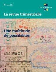 La revue trimestrielle - T4 2010 (F6263) - Standard Life Canada