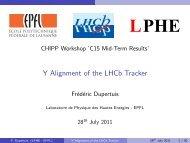 Full Text - Laboratoire de Physique des Hautes Energies - LPHE ...