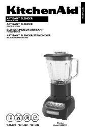 artisan™ blender artisan™ blender blender/mixeur - EMGA