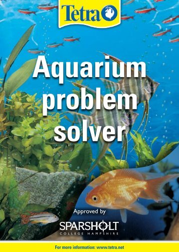 Aquarium problem solver - Tetra