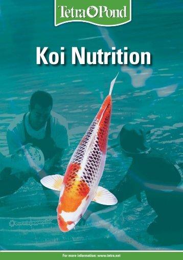 Koi Nutrition