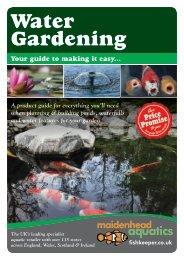 Water Gardening - Maidenhead Aquatics