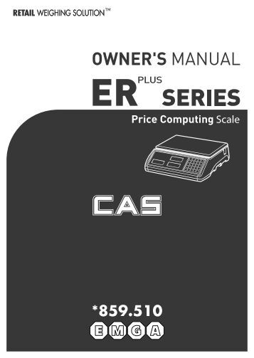 Instruction Manual - EMGA