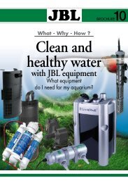JBL Clean and healthy water