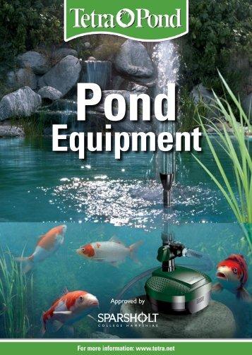 Pond equipment