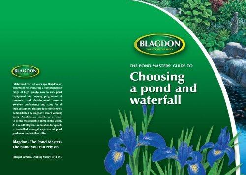 Blagdon Damselfly 750 Preformed Pond Liner