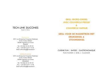 tECh-LINK SILICoNES - M6 Boutique