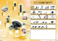 レンズ・LED照明器・検査スタンド - ミスミ