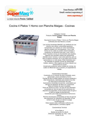 Pol industrial armentere for Cocina 1 plato