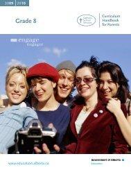Gr 8 Curriculum Parent Hndbk - Christ the Redeemer School Division