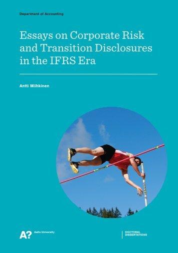 dissertation in pdf-format - Aalto-yliopisto