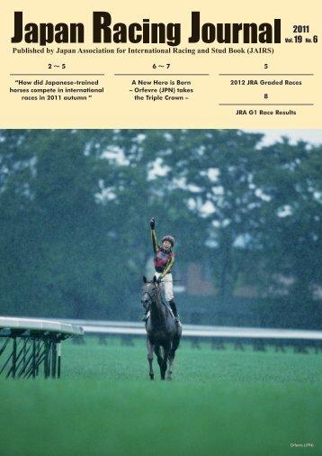 Vol.19 No.6 (December 2011) - Horse Racing in Japan