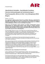 Alpenländische Heimstätte - Rhomberg Bau Gmbh