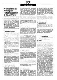 APV Richtlinie zur Pru?fung von Fertigarzneimitteln:apv Richtlinie ...