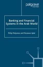 Banking and Financial Systems in the Arab World - PEEF's Digital ...