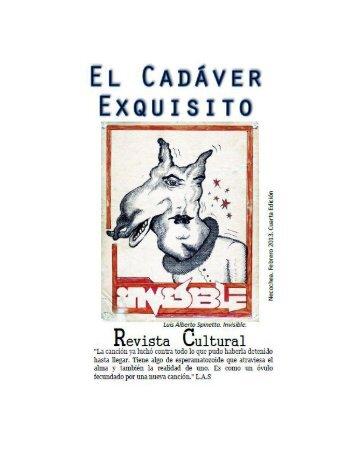 El Cadáver Exquisito - 4º Edición - Febrero 2013