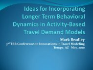 PPT - The 3rd Conference on Innovations in Travel Modeling