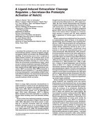 A Ligand-Induced Extracellular Cleavage Regulates ... - MCD Biology