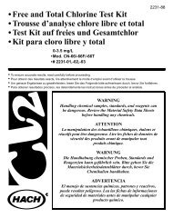 Free and Total Chlorine Test Kit • Trousse d'analyse chlore libre et ...
