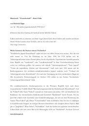 Blauhemd - Freundschaft! - Roter Falke von Heinrich Eppe aus: AJ ...