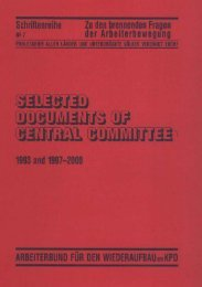 Selected Documents of Central Committee 1993 and 1997