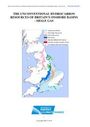 The unconventional hydrocarbon resources of britain's onshore