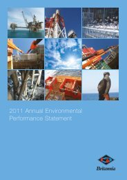 Britannia Operator Limited - Department of Energy and Climate ...